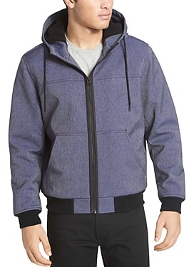 Levi's Sherpa Lined Hooded Bomber Jacket