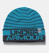 Under Armour Boys' UA Cuff Stripe Beanie