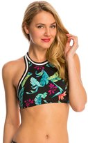Seafolly Jungle Out There Crop Active Tank Bikini Top 8141511