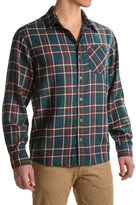 White Sierra Mad River Plaid Shirt - Long Sleeve (For Men)