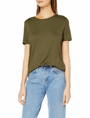 Pieces Women's PCLUCY SS TOP T-Shirt