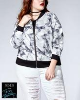 Penningtons Tess Holliday - Printed Bomber Jacket