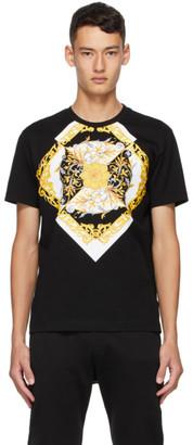 Versace Black Barocco Taylor T-Shirt