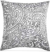 Charter Club Damask Designs Stone Paisley Cotton 300-Thread Count European Sham, Created for Macy's Bedding
