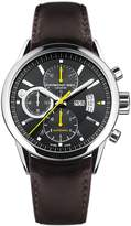 Raymond Weil Men's Freelancer Automatic Chronograph Black Dial Brown Genuine Leather