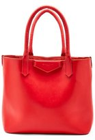 Givenchy Antigona Whipstitch-Handle Tote Bag, Red