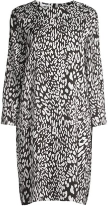 Escada Sport Dalyme Leopard-Print Dress
