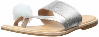 UGG Women's Hadlee Metallic Flat Sandal