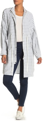 ENGLISH FACTORY Checkered Balloon Sleeve Jacket