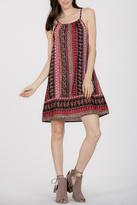 En Creme Midi Dress
