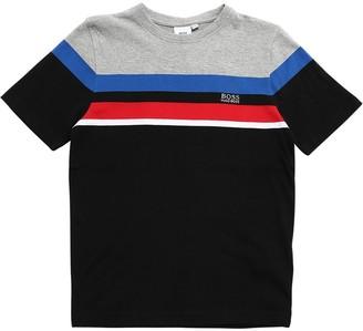 HUGO BOSS Logo Cotton Jersey T-shirt