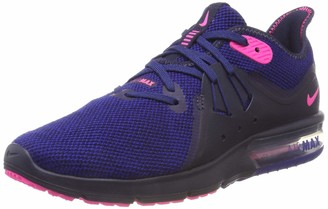 Nike Girl's WMNS Air Max Sequent 3 Competition Running Shoes