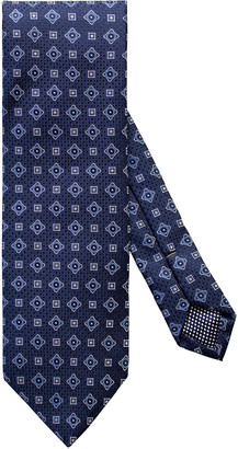 Eton Men's Micro-Medallion Silk Tie