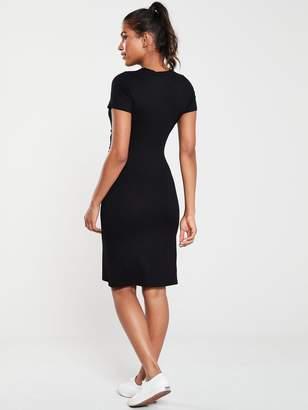 Very Knotted Centre Jersey Dress - Black