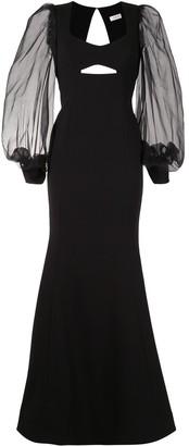 Rebecca Vallance Barbie cut-out gown