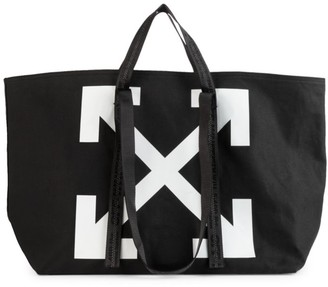 Off-White Commercial Canvas Tote
