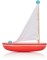 Jack Rabbit Creations JACK RABBIT CREATIONS WOODEN SAILBOAT-RED