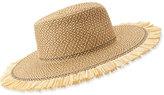 Eric Javits Havana Boater Hat, Peanut