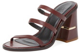 Tibi Mela Strappy Leather Sandal