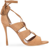 Tabitha Simmons lace-up sandals - women - Leather/Suede - 35.5