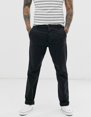 French Connection slim fit chino-Navy