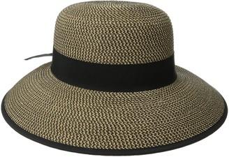 San Diego Hat Company Women's Ultrabraid Sun Brim with Back Bow Detail