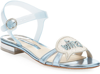 Sophia Webster Wifey For Lifey Ankle-Strap Sandals