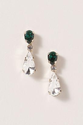 Anthropologie Verdell Drop Earrings By in Green Size ALL