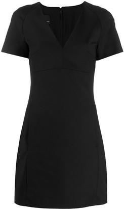 Pinko V-neck mini dress