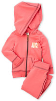 Juicy Couture Girls 7-16) Two-Piece Zip-Up Hoodie & Jogger Pants Set
