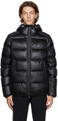 MONCLER GRENOBLE Black Down Hintertux Puffer Jacket