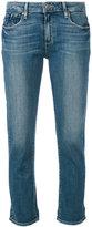 Paige 'Brigitte' cropped jeans - women - Cotton/Polyester/Spandex/Elastane - 24