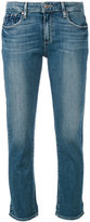 Paige 'Brigitte' cropped jeans - women - Cotton/Polyester/Spandex/Elastane - 28