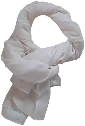 GUESS White Polyester Scarves