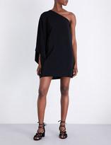 Rosetta Getty One-shoulder stretch-crepe dress