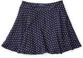 Ralph Lauren Printed Flounce Skirt
