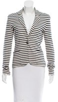 Tory Burch Stripe Casual Blazer