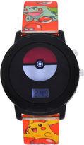 Pokemon Boys Multicolor Strap Watch-Pok4051jc