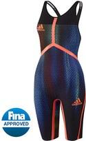 adidas Women's Adizero XVI Breaststroke Open Back Tech Suit 8153025