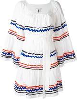 Lisa Marie Fernandez short peasant dress - women - Linen/Flax - 2