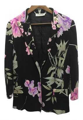 Leonard Black Silk Jackets