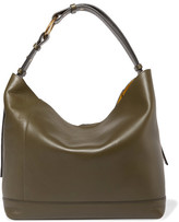 Marni City Pod Leather Tote - Green