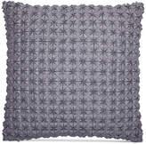 """Hotel Collection Modern Plaid 18"""" Square Decorative Pillow, Only at Macy's Bedding"""