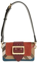 Burberry 'Small Belt Bag' Embossed Leather Convertible Shoulder Bag - Brown