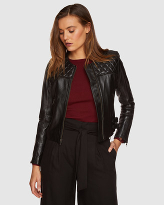 Oxford Rizzo Leather Jacket
