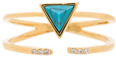 Wanderlust + Co Dusk To Dawn Turquoise Wrap Ring