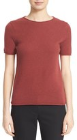 Theory 'Tolleree' Short Sleeve Cashmere Pullover