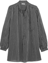 Etoile Isabel Marant Jana Striped Cotton Shirt - Black