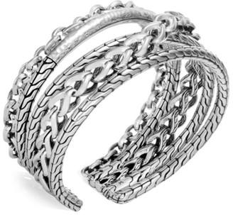 John Hardy Classic Chain Sterling Silver Flex Cuff