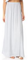 Clayton Stripe Twill Jen Skirt